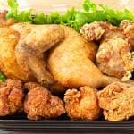 半身揚げ盛/Fried 1/2 Chicken Platter