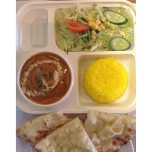 ランチスペシャルチーズナンセット/Lunch Special Cheese Nan Set