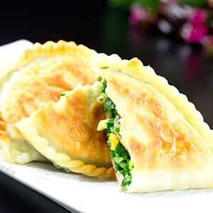 【245】ニラと玉子入り焼きパン