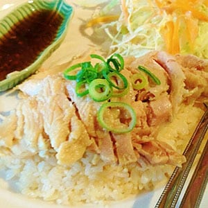 カオマンガイ 蒸し鶏ご飯