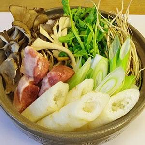 きりたんぽ鍋 ※要鍋
