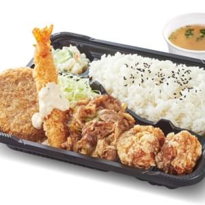 未来屋 牛焼き肉弁当【スペシャル】ご飯大盛 味噌汁付
