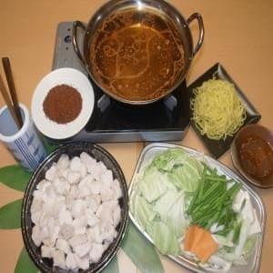 もつ鍋(激辛)