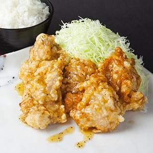 自家製つけダレ 熟成肉厚 塩ダレ メガ唐揚げ弁当【鶏もも肉】 3個