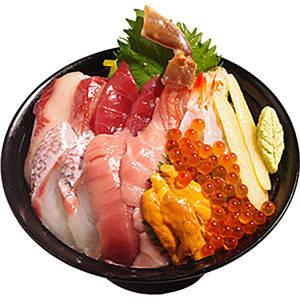 極上海鮮丼 【D3】1人前
