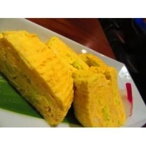 黄にらの出し巻き卵