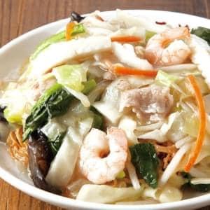 大阪王将 海鮮皿うどん