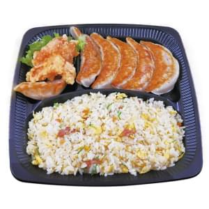 大阪王将 餃子&炒飯弁当