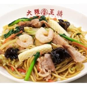 大阪王将 もちもち太麺の炒め焼きそば