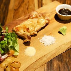 鶏の炭火焼ステーキ【期間限定家計応援セール】 シングル(約240g)