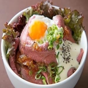ローストビーフ丼 肉並盛