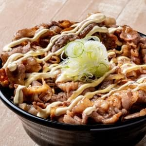 牛マヨ焼肉丼 肉大盛 牛マヨ焼肉丼 肉大盛