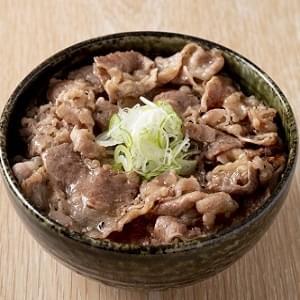 ねぎ塩牛カルビ焼肉丼 肉大盛 ねぎ塩牛カルビ焼肉丼 肉大盛