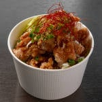 【香味】 自家製たれの油淋鶏[Flavor]Fried Chicken in Homemade Sauce