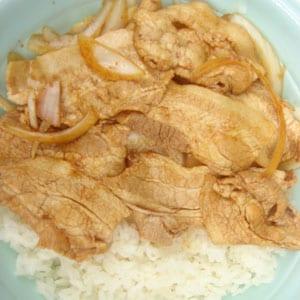 29. 豚肉生姜焼き飯