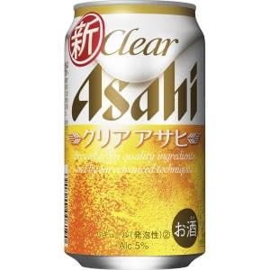 【00065393】アサヒ クリアアサヒ 350ML 缶 バラ(1本)