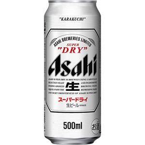 【00001278】アサヒ スーパードライ 500ML 缶 バラ(1本)