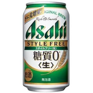 【00048142】アサヒ スタイルフリー 350ML 缶 バラ(1本)