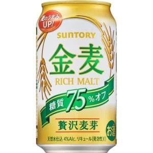 【00217218】サントリー 金麦 糖質75%OFF 350ML 缶 バラ(1本)