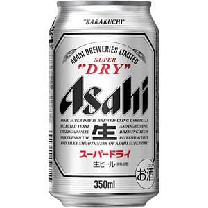 【00002336】アサヒ スーパードライ 350ML 缶 バラ(1本)