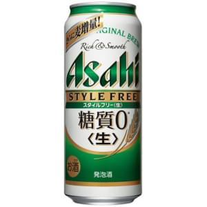 【00048143】アサヒ スタイルフリー 500ML 缶 バラ(1本)