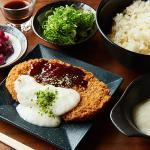 【自家製味噌】山芋とろろカツ丼/Crispy Cutlets with Grated Yam Rice Bowl