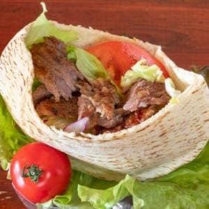 ビーフケバブサンド Beef Kebab Sandwich
