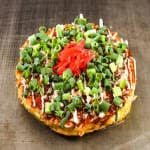 青ねぎ玉 Green Onion Okonomiyaki