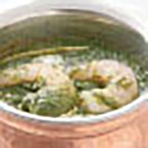 【17】サグプラウンカレー/Sag Prawn Curry