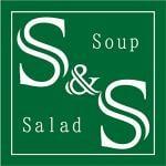 リーフ野菜の上に豪華なおかずを乗せた贅沢サラダと、具だくさんスープの店 丸田町 S&S