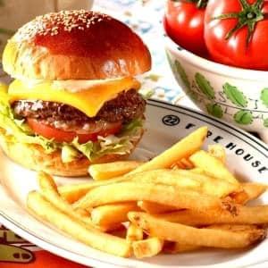 CHEESE BURGER【チーズバーガー】