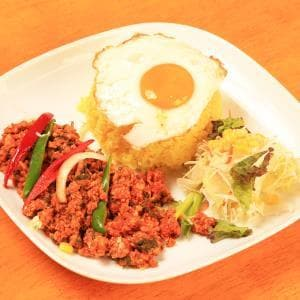 【ディナー】ガッパオライス/Gapao Rice
