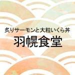 炙りサーモンと大粒いくら丼 羽幌食堂