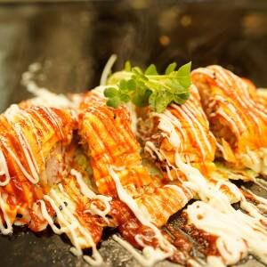 京風角煮のとんぺい焼き