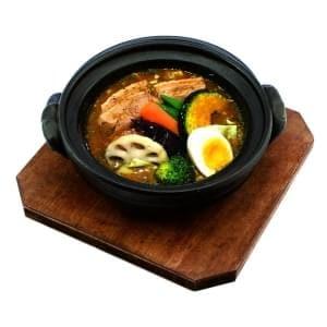 豚角煮カリー オリジナルスープ