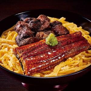 【77】極 炭火焼き鶏とうなぎの丼
