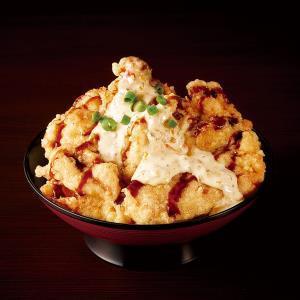 特価【89】特製 鶏天タルタル丼(中盛り) 通常価格(税込)1580円→