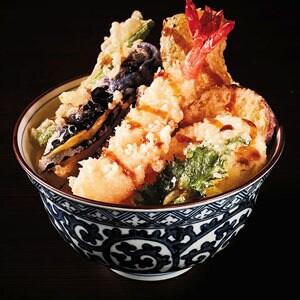 【70】大海老野菜天丼