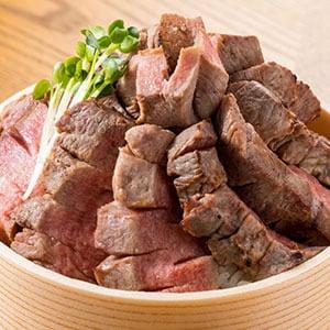 熟成厚切り牛タン丼(塩味)