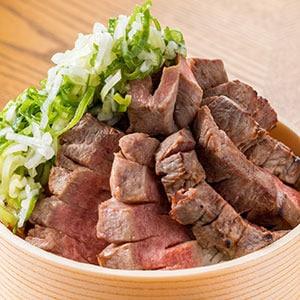 和風ネギ塩厚切り牛タン丼