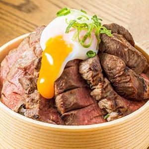 温玉厚切り牛たん丼(たれ味) SR05 小100g