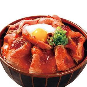 特盛ローストビーフ丼 ご飯普通