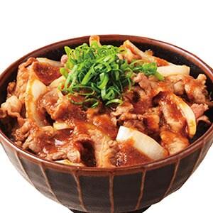 焼肉牛カルビ丼 ご飯普通