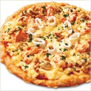 ガーリックシーフードピザ