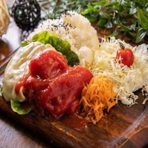 チーズトマトタンバーグ チーズ・トマト