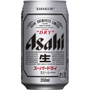 アサヒスーパードライ 缶ビール(350ml)