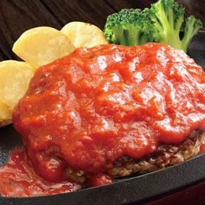 トマトハンバーグ弁当