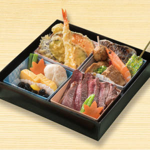 彩り惣菜詰め合わせ(黒毛和牛ステーキ入り)