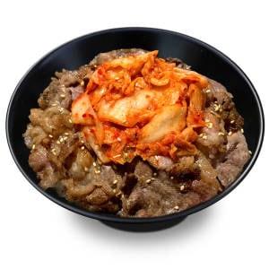 キムチ牛カルビ丼
