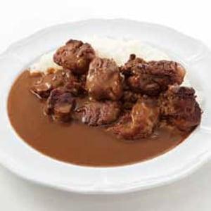 ダブル牛ヘレステーキカレー レギュラー(300g)